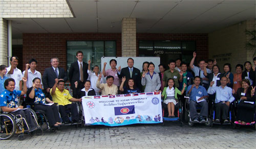 Group Photo of ASEAN Mechanism and the Convention on the Rights of Persons with Disabilities