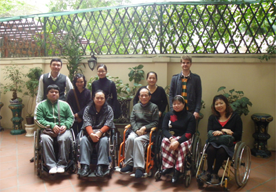 DPI/AP Mission Team photogroup with Mr. Nghiem Xuan Tue (Former Director, NCCDโ€™s Office) and HILC20 staffs