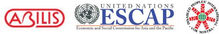 Logo of ABILIS Foundation, ESCAP and DPI/AP